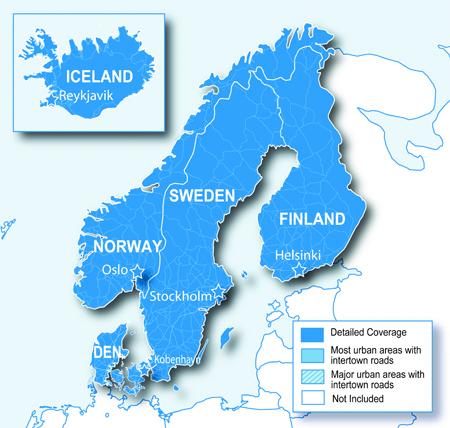 Garmin Map Nordics SDmicroSD Card - Sweden map gps