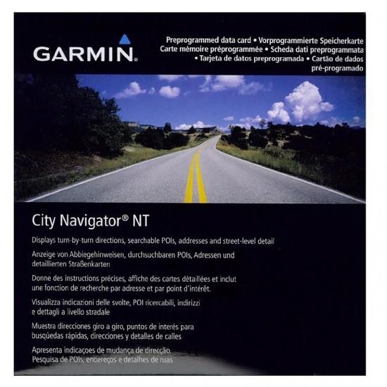 Garmin Map City Navigator Egypt NT (SD/microSD) Image