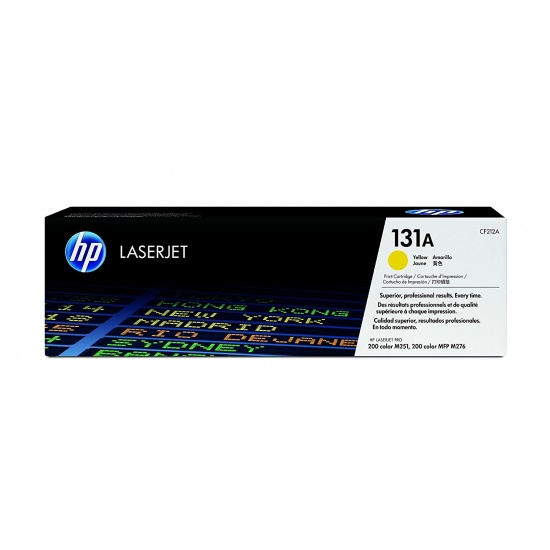 HP LaserJet Toner Cartridge - CF212A - Yellow - 1800 Page Yield Image
