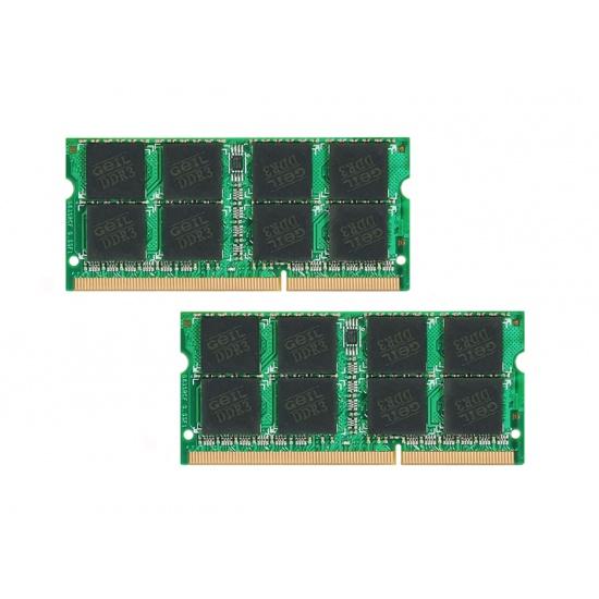 16GB GeIL DDR3 SO-DIMM PC3-12800 1600MHz laptop dual channel memory kit (CL10) 2x8GB Image