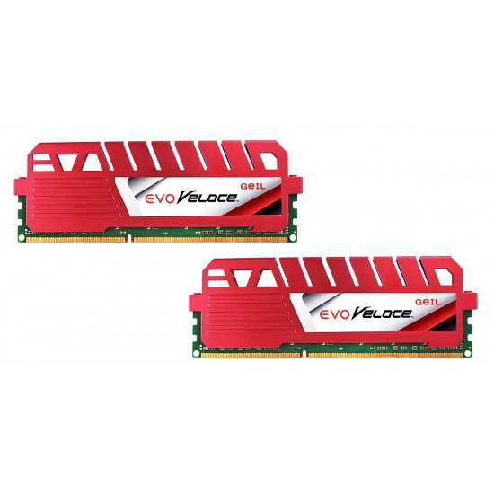 16GB GeIL Evo Veloce DDR3 PC3-12800 1600MHz Dual Channel kit 2x8GB (10-10-10-28) Image