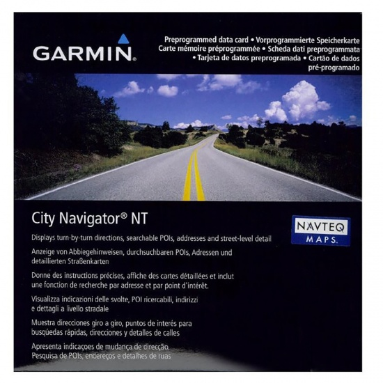 Garmin Map City Navigator Australia & New Zealand NT (microSD/SD card) 010-11875-00 Image