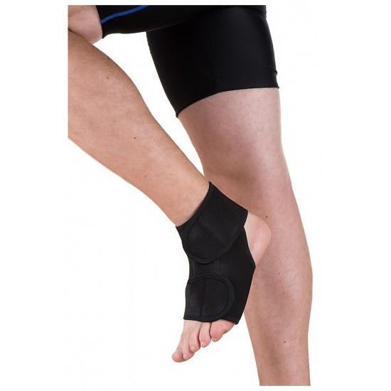EyezOff Neoprene Ankle Support with Velcro Closing, One Size, Black Image