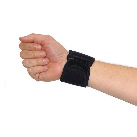 EyezOff Neoprene Wrist Support Strap with Velcro Closing, One Size, Black Image