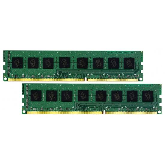 8GB GeIL Green Series DDR3 1333MHz PC3-10660 CL9 Dual Channel kit (2x 4GB) 1.35V Image