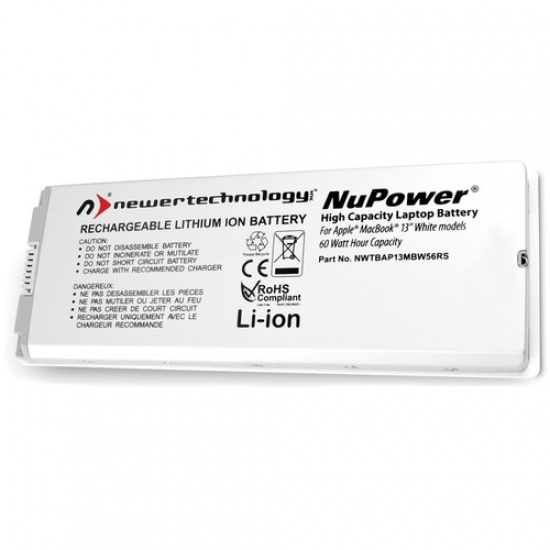 NewerTech NuPower 60.5 Watt-Hour Lithium-Ion Rechargeable Battery for MacBook 13.3-inch Image