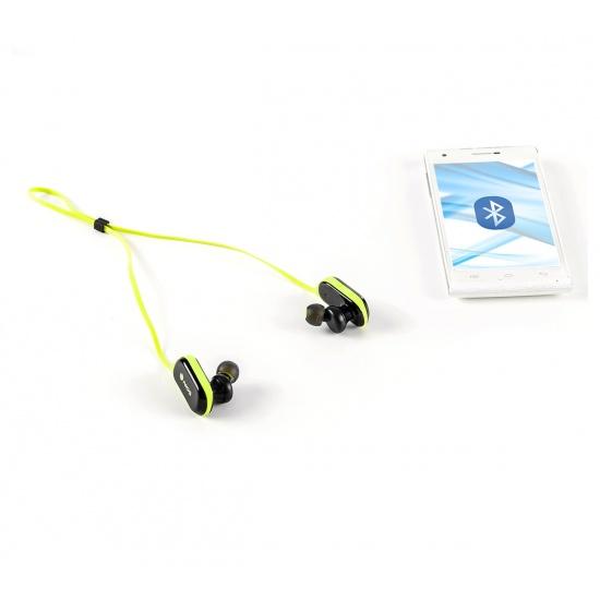 NGS Wireless BT Sport Headphones, Artica Ranger Edition - Yellow Image