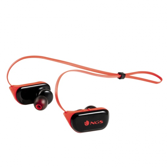NGS Wireless BT Sport Headphones, Artica Ranger Edition - Red Image