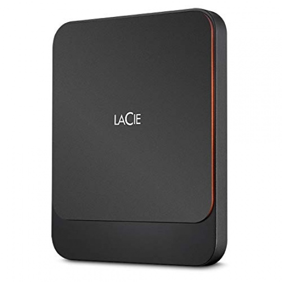 2TB Seagate LaCie Portable External USB3.0 Solid State Drive - Black Image