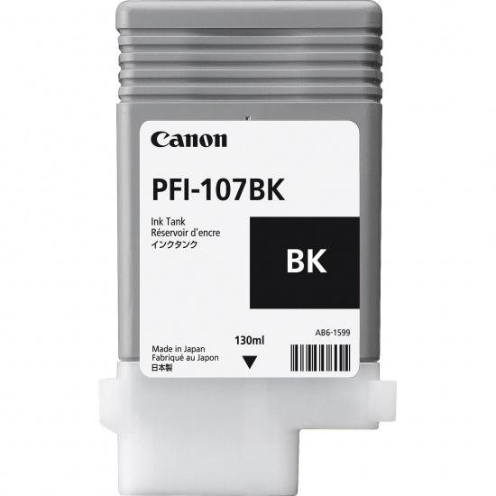 Canon PFI-107bk Black Ink Cartridge Image