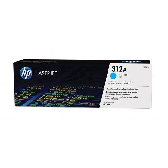 HP LaserJet Toner Cartridge - CF381A - Cyan - 2700 Page Yield Image