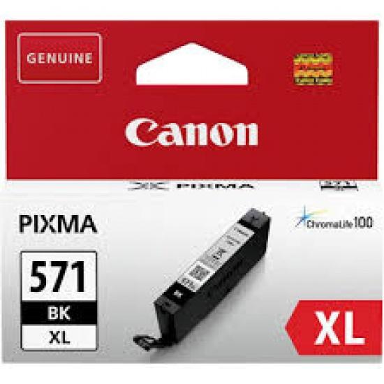 Canon CLI-571 XL Black Ink Cartridge Image