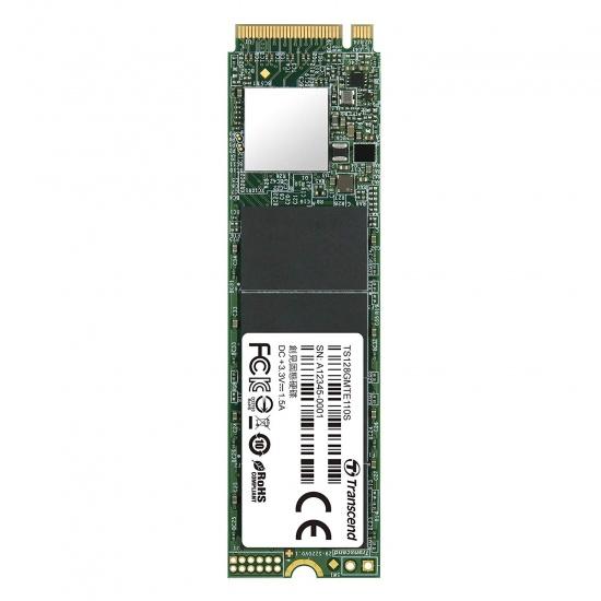 128GB Transcend 110S M.2 2280, NVMe PCIe Gen3x4 SSD Image