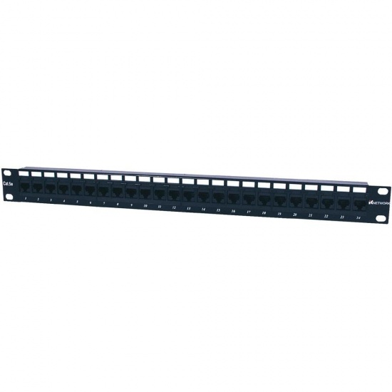 Intellinet 24-Port Cat5e Patch Panel Image