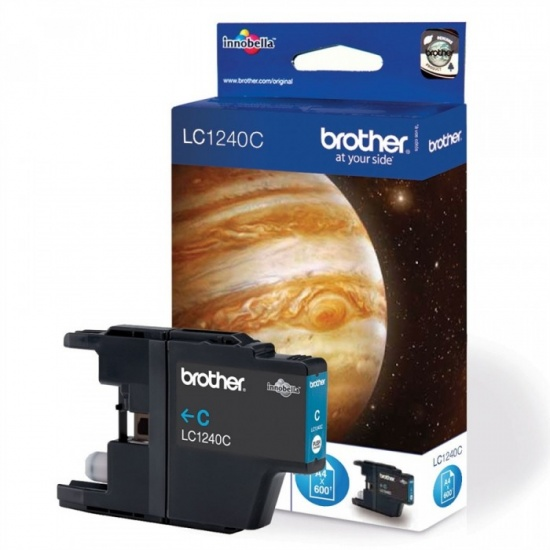 Brother LC-1240C Cyan Ink Cartridge Image
