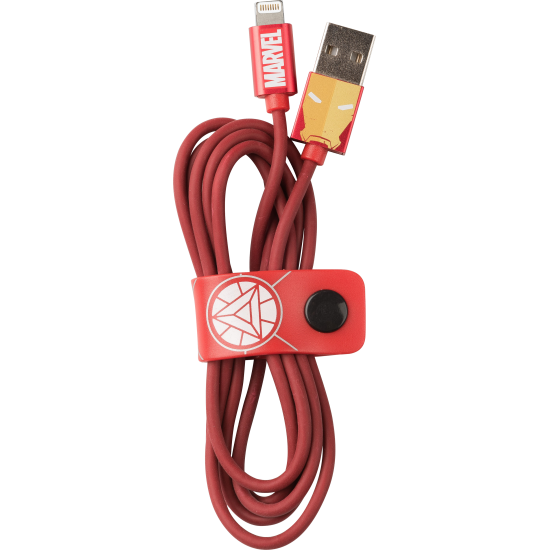 Marvel Iron Man Lightning Cable 120cm Image