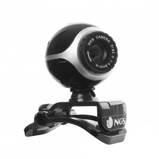NGS 300K Webcam with Built in Microphone - 3.5mm Jack Image