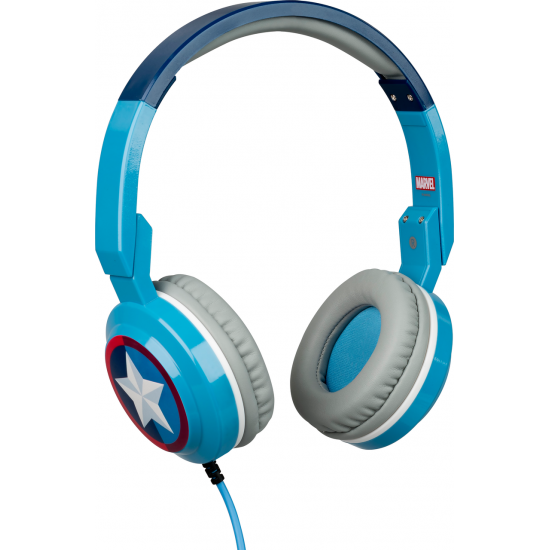 Marvel Captain America Foldable Headphones Image