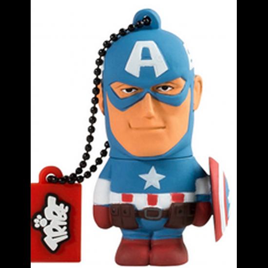 16GB Captain America USB Flash Drive Image