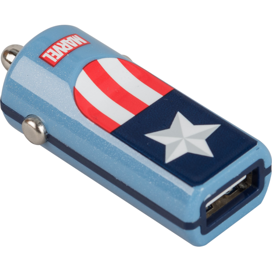 Marvel Captain America USB Car Charger Image