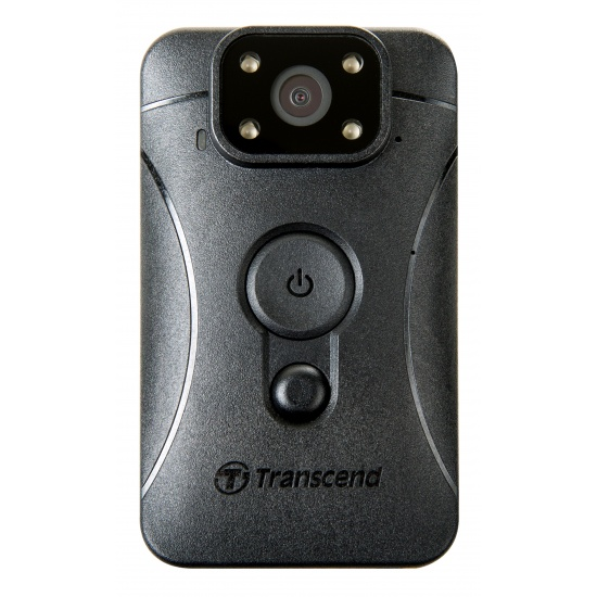 Transcend DrivePro Body 10 Wearable Body Camera  with Free 32GB MicroSDHC Card Image