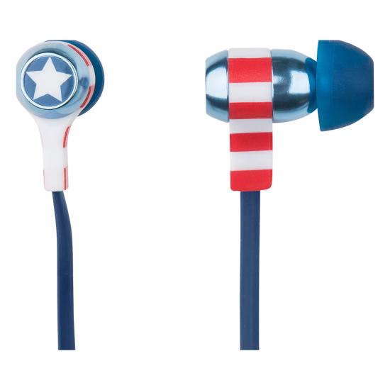 Marvel Captain America Swing Earphones Image