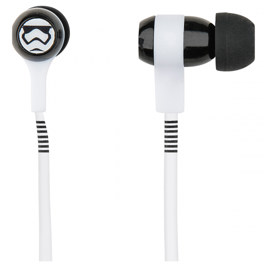 Star Wars TFA Storm Trooper Swing Earphones Image