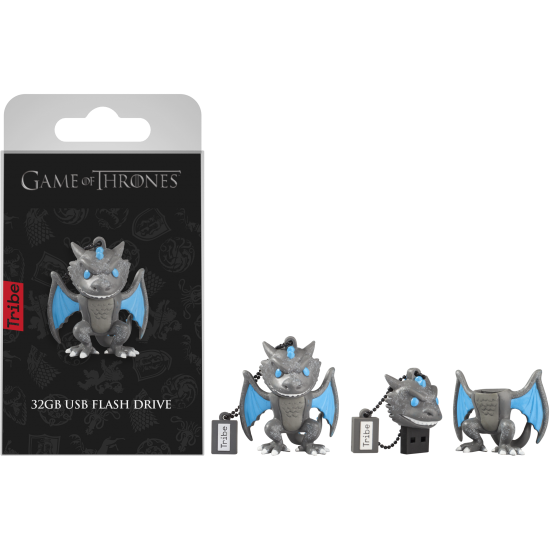 32GB Game of Thrones Viserion USB Flash Drive Image