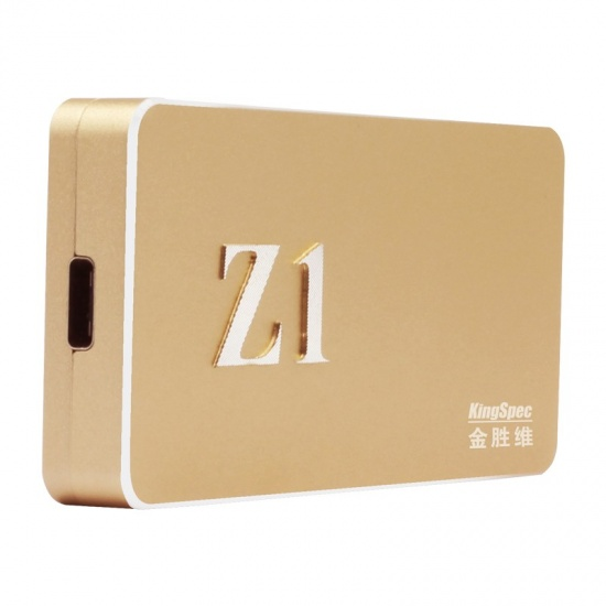 256GB KingSpec Z1 USB3.1 Type-C External SSD  Image