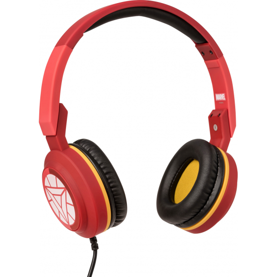 Marvel Iron Man Foldable Headphones Image