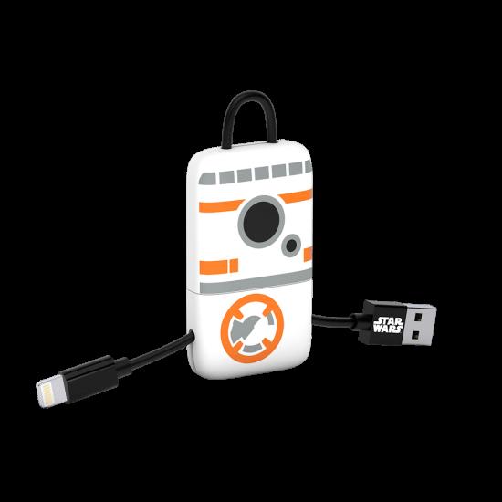 Star Wars TLJ BB-8 KeyLine Lightning Cable 22cm Image