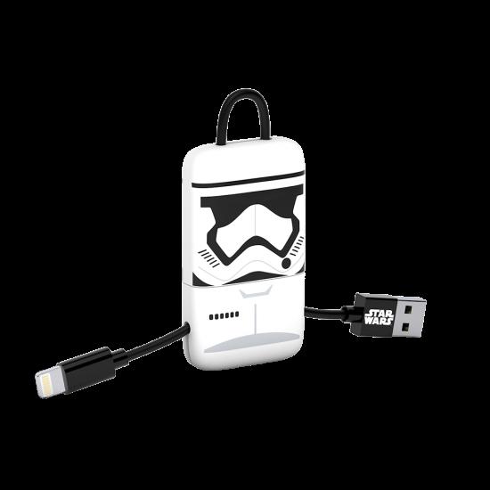 Star Wars TLJ StormTrooper KeyLine Lightning Cable 22cm Image