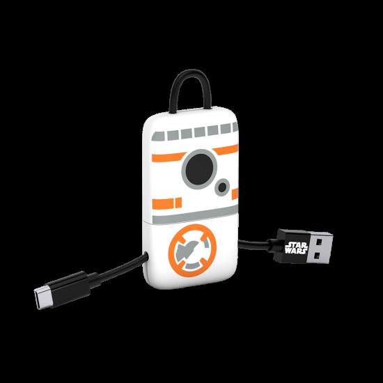 Star Wars TLJ BB-8 KeyLine Micro USB Cable 22cm Image