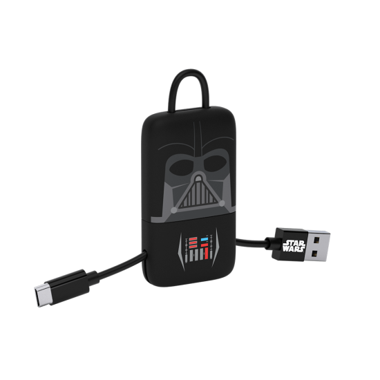 Star Wars Darth Vader KeyLine Micro USB Cable 22cm Image