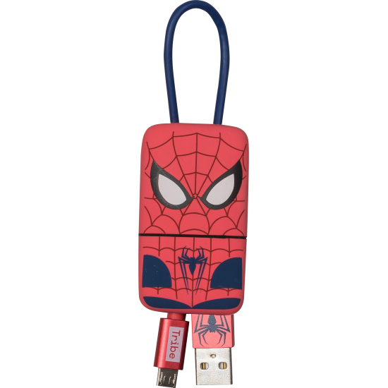 Marvel Spiderman Keyline Micro USB Cable 22cm Image