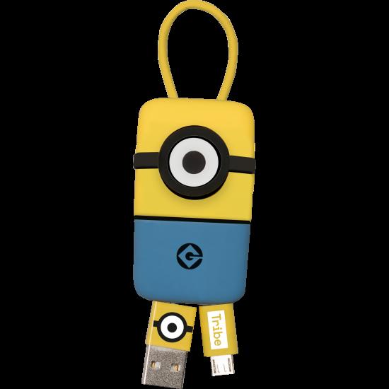 Minions Keyline Micro USB Cable 22cm Image