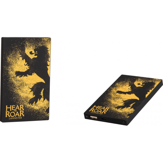 4000mAh Game of Thrones Lannister Power Bank Image