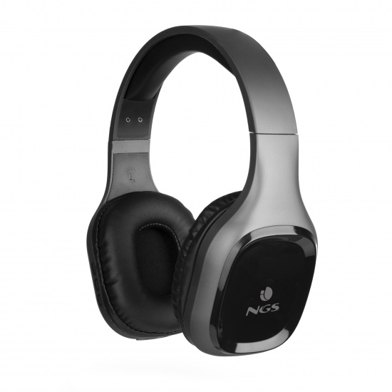 NGS Artica Sloth Wireless BT Headphones, Gray Image