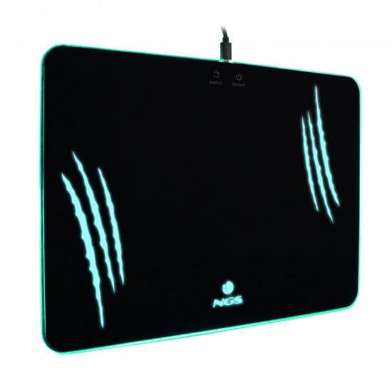 NGS Multi-color Illuminated Gaming Mouse Pad Image