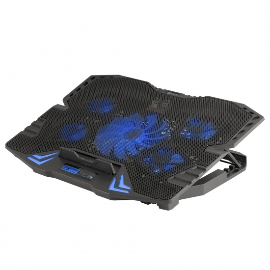 NGS Gaming Laptop Cooler with 5 Fans and LCD Screen - GCX-400 Image