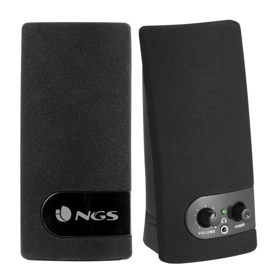 NGS SB150 Multimedia 2.0 Stereo Speakers for Laptop & Desktop Computers Image