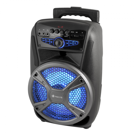 NGS 35W WildMambo Portable Wireless BT Speaker with built in FM Radio Image