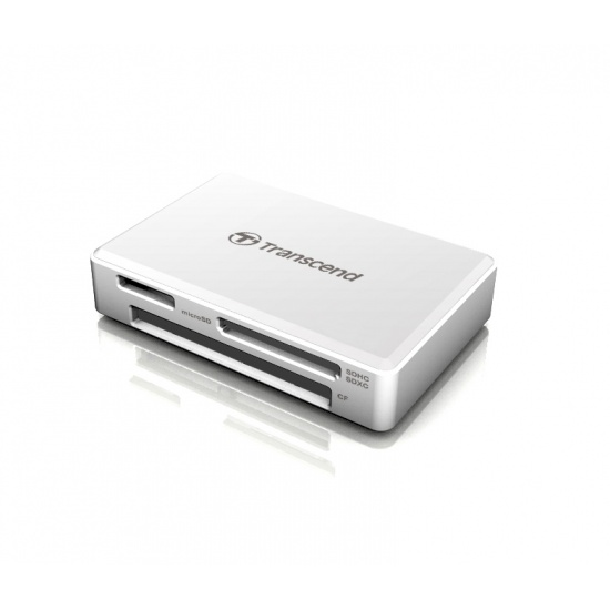 Transcend RDF8 USB3.1 Gen 1 All-In-One Multi Card Reader White Image