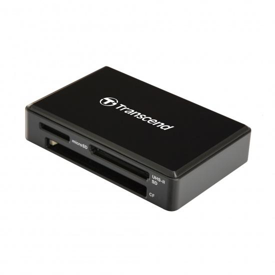 Transcend RDF9 USB3.1 Gen 1 SD, SDHC, SDXC, microSD, microSDHC, microSDXC, CF Memory Card Reader Image