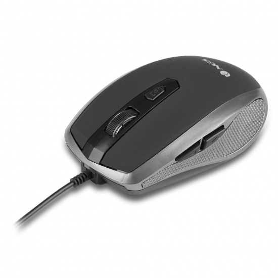 NGS Tick Wired Optical Gaming Mouse, 5 Buttons + Scroll Wheel - Silver Image