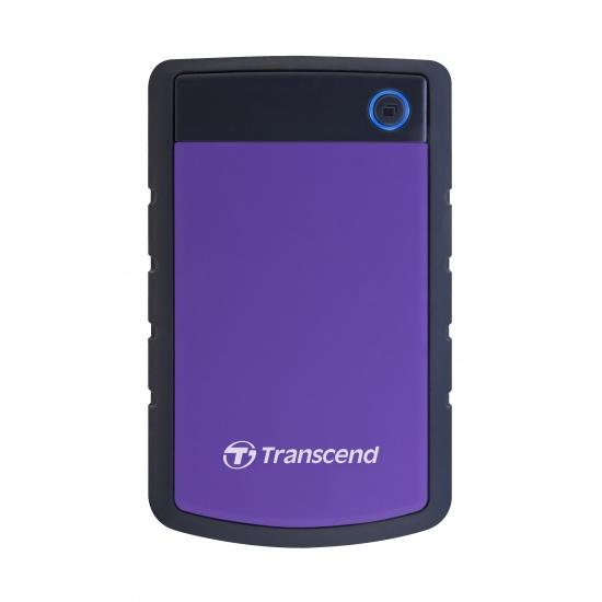 2TB Transcend StoreJet 25H3 2.5-inch USB3.0 Portable Hard Drive Image