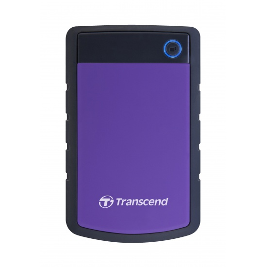 4TB Transcend StoreJet 25H3 2.5-inch USB3.0 Portable Hard Drive - Purple Image