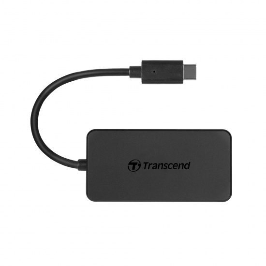 Transcend USB Type-C 4-Port Hub USB3.1 Gen 1 Image
