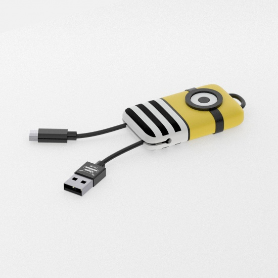 Minions Jail Time Keyline Micro USB Cable 22cm Image
