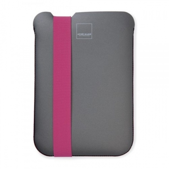 Acme Made Skinny Sleeve for iPad Mini - Gray/Pink Image